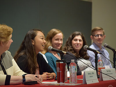 panelists for careers in consulting