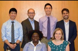 Aaron Chiu, Matthew Whitman, Jason Chang, Andy Sanchez, Sarah Adeyemo, and Felicity Emerson