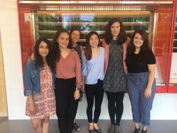 Jumana Badar, Nancy Ruiz, Susi Varvayanis, Adrienne Chang, Sarah Murphy, Kathryn Lanza