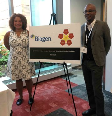 Cherié Butts, Biogen and Avery August, Cornell
