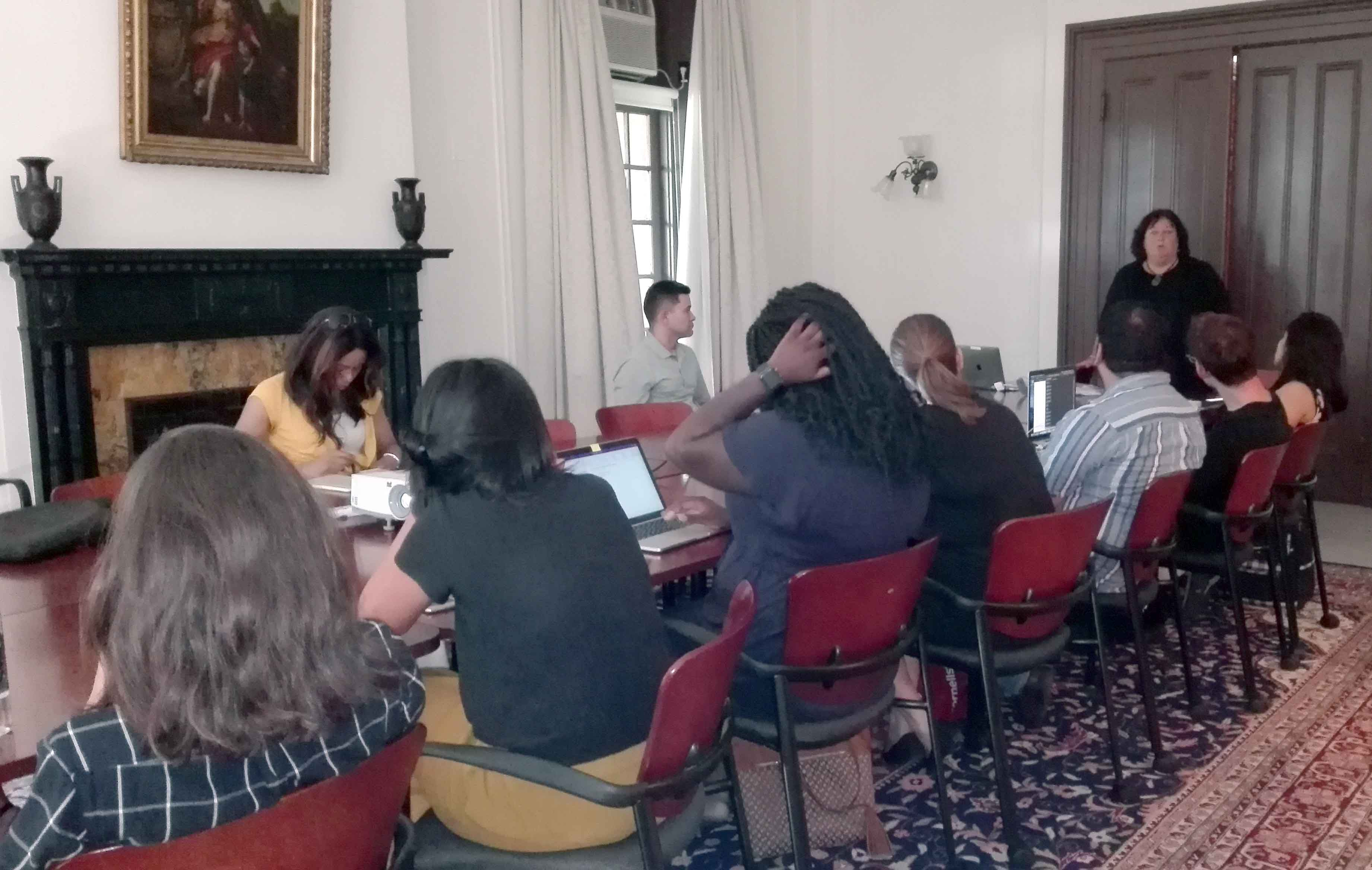 humanities roundtable discussion