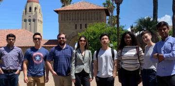 Participants during the Silicon Valley Entrepreneurial Trek