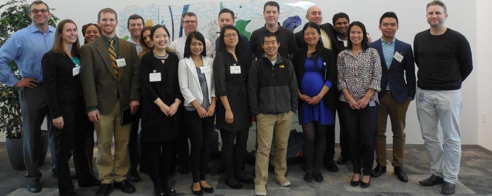 CBA/BEST participants and alumni at a site visit