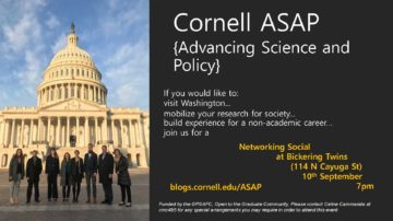 Flier for ASAP networking event