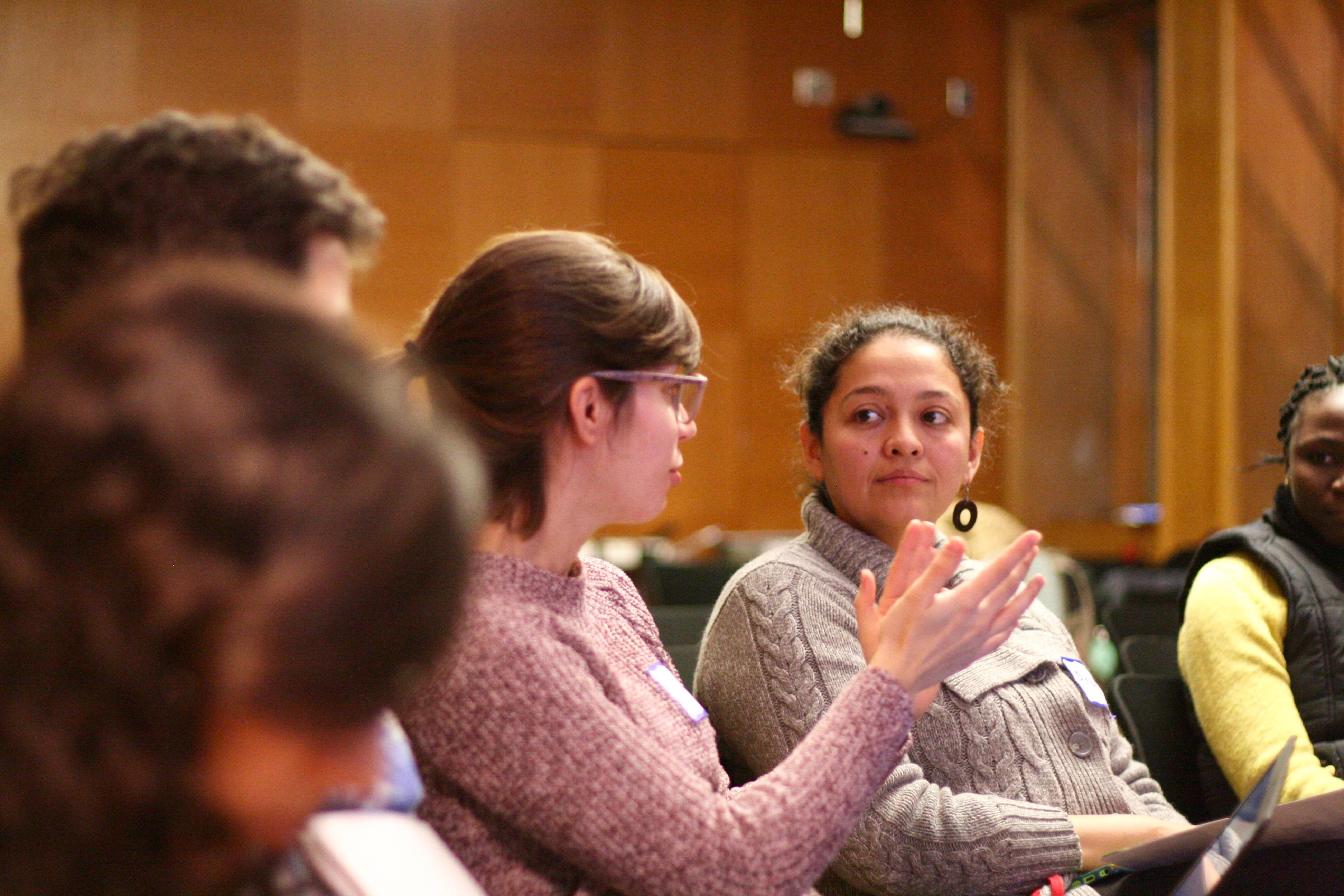 Mariana Amorim and Anyi Mazo Vargas discuss career preparation