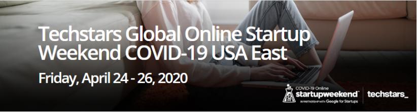 Global Online Startup Weekend banner