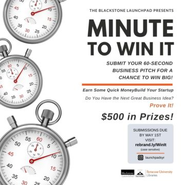 Minute to Win It flyer
