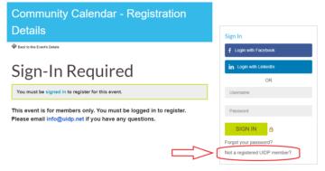 UDIP registration-page