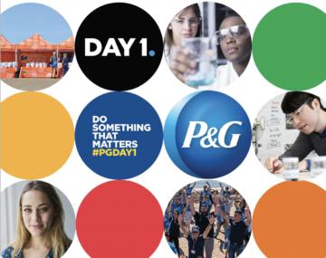 P&G flyer logo