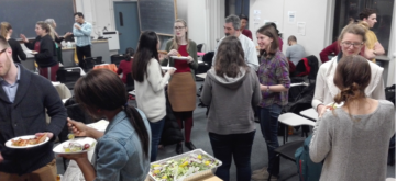 networking with science communicators