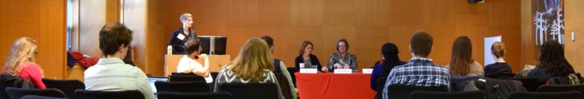 Celine moderates a career panel