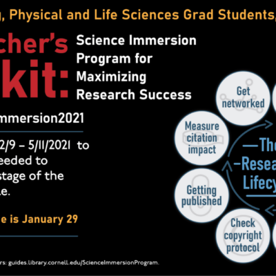 Researcher's Toolkit flyer