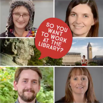 Careers in Librarianship panelists