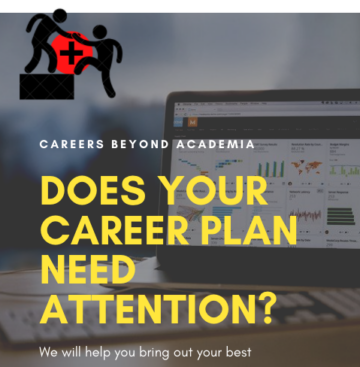Does your career plan need attention?