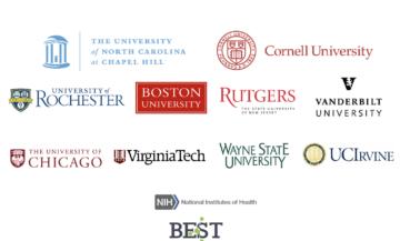 author institutional logos